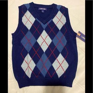 NWT- Cherokee- Boy's Sweater Vest- Size 5T